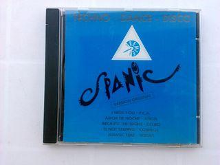 CD TECHNO DANCE DISCO ( SPANIC SISTER GOLDEN HAIR)