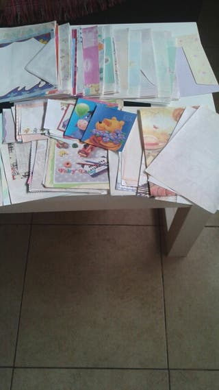 Lote de cartas perfumadas