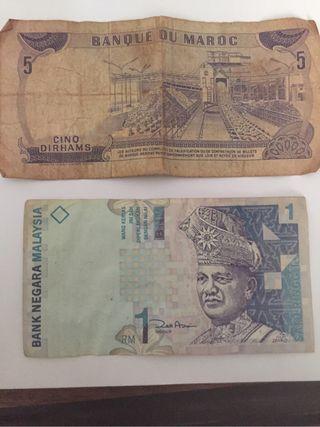 Billetes antiguos coleccionistas