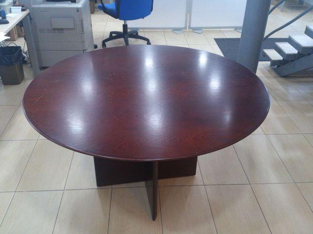 Mesa redonda despacho / oficina / reuniones de segunda mano por 80 ...