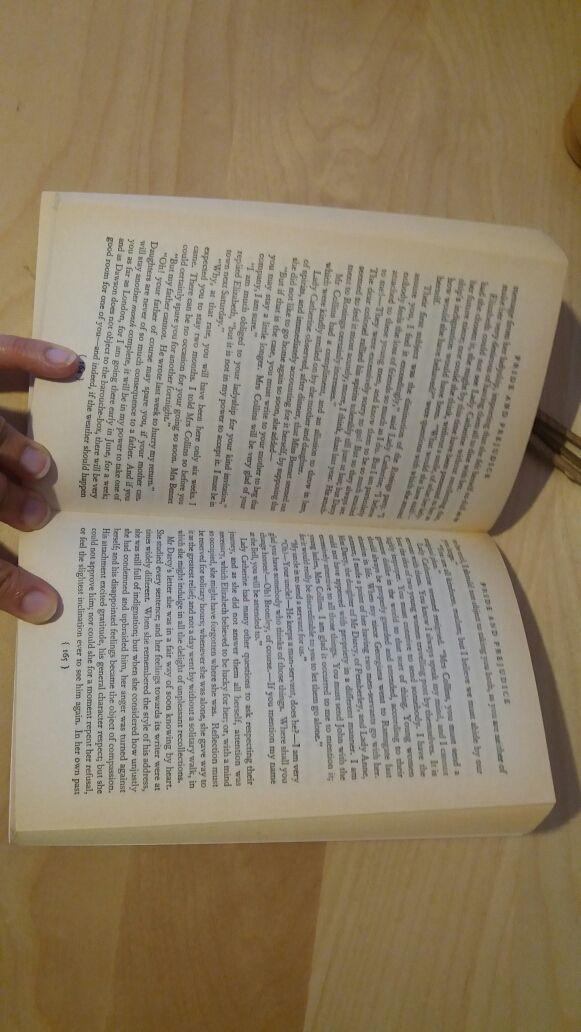 """Libro """"Orgullo y prejuicio"""" en inglés."""