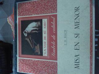 Discos vinilo misa en si menor año 1959