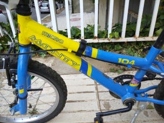 Se vende bici de niño monty 104