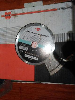 Vendo disco corte diamante 230 amoladora