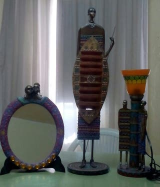 Conjunto africano.