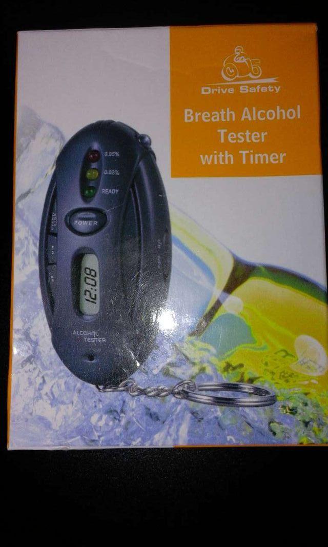 Alcoholímetro con llavero