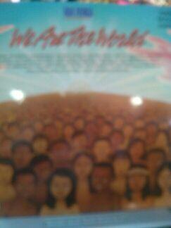Disco vinilo de we are the world con michael jackson