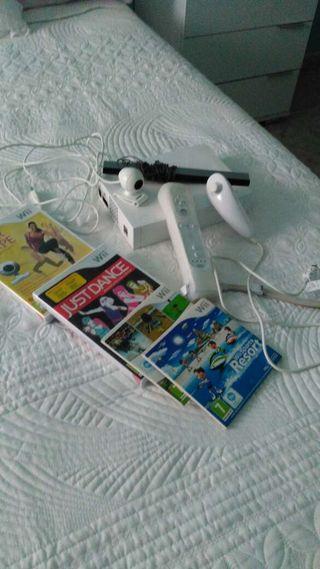 Wii prácticamente nueva