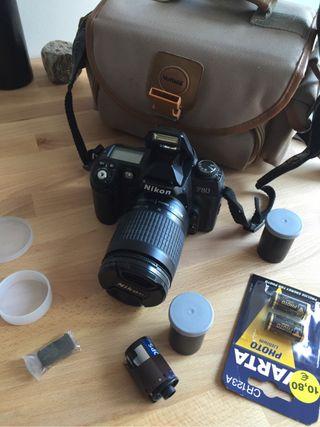 Nikon F80 analógica