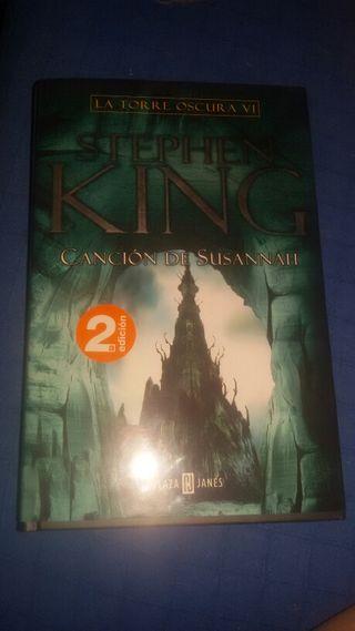 """Novela de Stephen King """" Canción de Susannah"""" de la saga La Torre Oscura VI"""