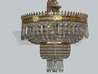 Lámpara de cristal veneciano