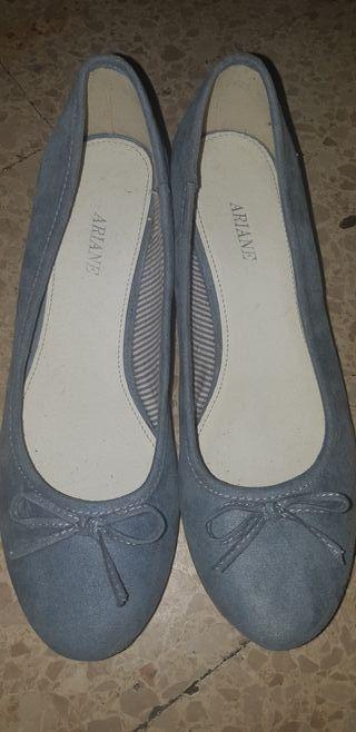 Zapatos cuña número 40