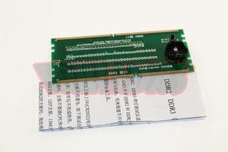 Tester socket DDR2 y DDR3
