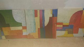 Conjunto de 3 cuadros