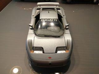 Maqueta Bugatti