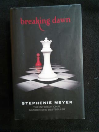 Libro Amanecer Stephenie Meyer book Breaking Dawn