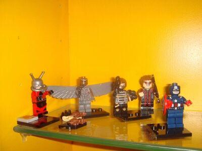 Lego Civil war bando del capi nuevas