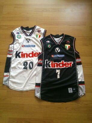 Pack camisetas Abbio (firmada) Jaric Virtus Bolonia
