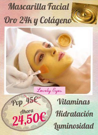 Tratamiento Facial Oro y Colágeno