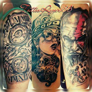 realizo todo tipo de tatuajes covers en colores,etc