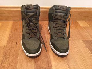 zapatillas cuña interior nike