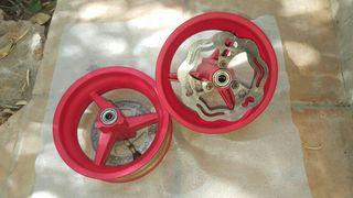 Llantas minibike