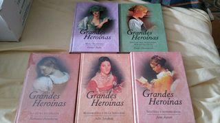 Colección grandes heroinas