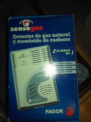 Detector de gas natural y monoxido de carbono
