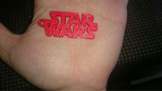 Llavero Star Wars hecho con impresora 3d