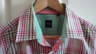 Camisa Shirt manga corta Hugo Boss Hombre talla L