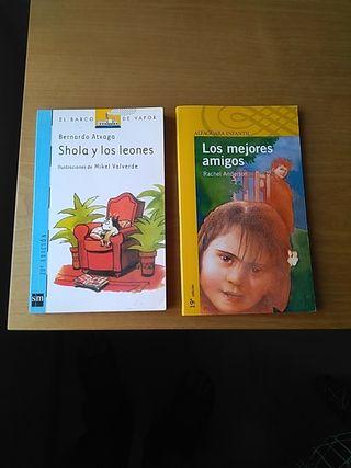 Libros lectura infantil (6-7 años)