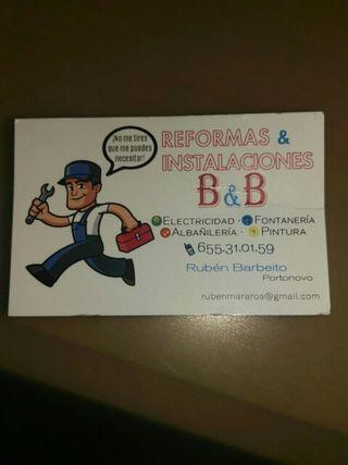 Reformas & Instalaciones B&B