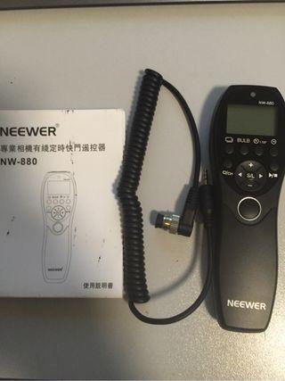 Neewer nw-880 disparador temporizador con cable