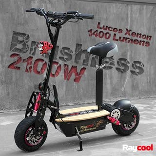 Patinete eléctrico 2100W brushless RAYCOOL