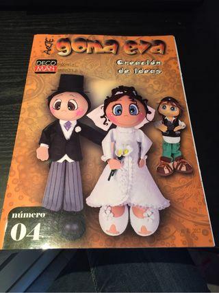 2 Revistas Arte Goma Eva