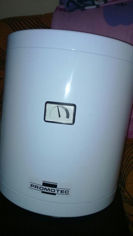 Calentador eléctrico.