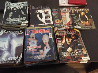 Revistas de Metal