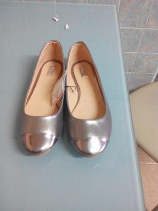 Zapato niña 35 con etiqueta