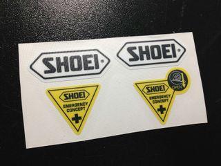 Pegatinas Shoei Emergency Concept Eco38 Moto Gp Marquez Stickers Aufkleber Autocollants Adesivi