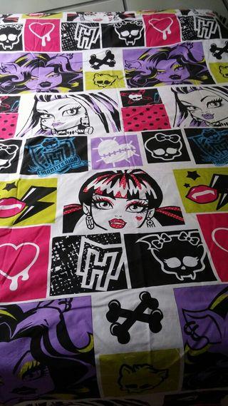 Funda nordica de Monster High,3 piezas de 90.