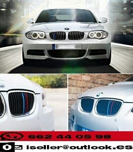 Sticker parrilla efecto deportivo M3 de BMW