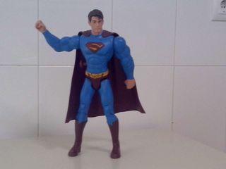 Superman 30 cm. con luz y sonido