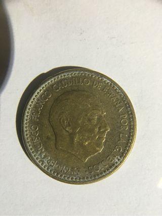 Una peseta 1953