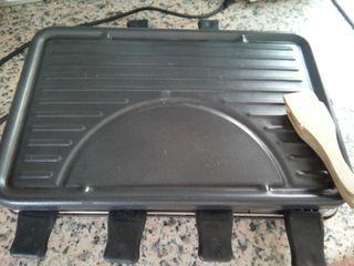 Parrilla electrica con bandejitas para fundir queso...