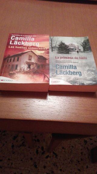 2 llibres misteri. Huellas imborrables ...la princesa de hielo