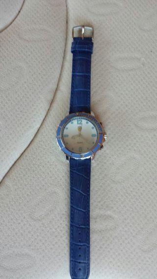Reloj vintage azul