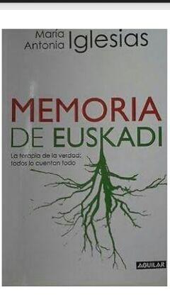 LIBRO MEMORIA DE EUSKADI.NUEVO