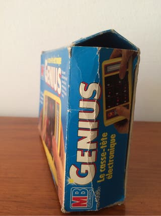 Juego Electronico Genius MB año 1980