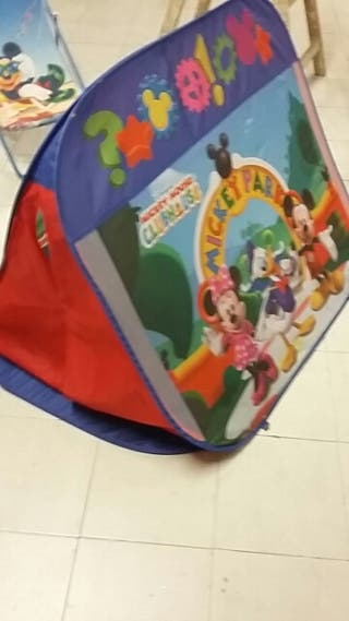Tienda de campaña niños