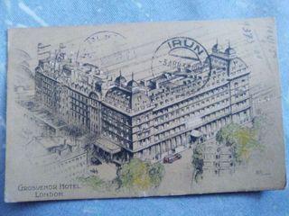 Tarjeta postal Londres año 1935